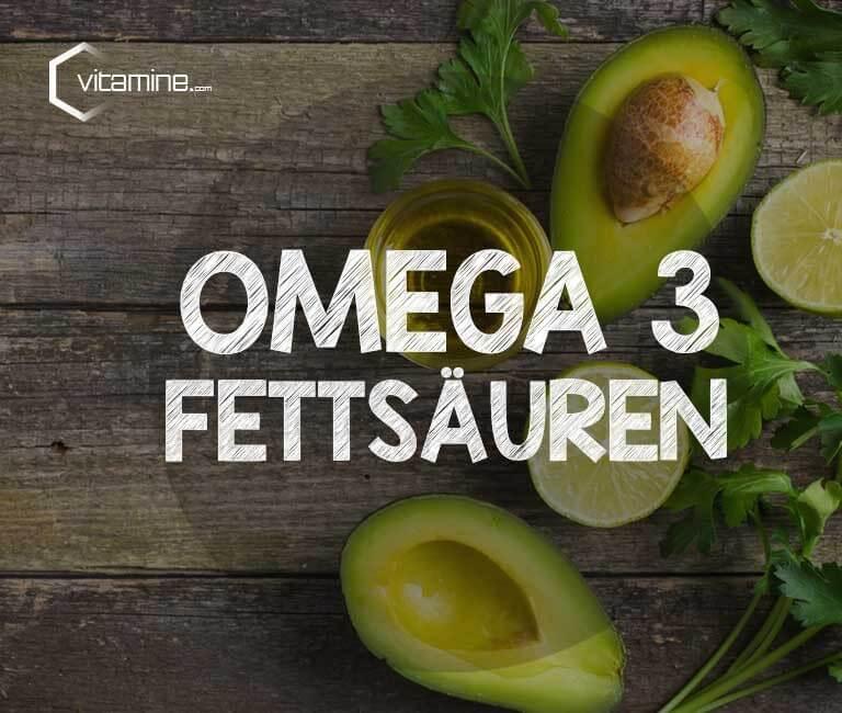 Omega 3 Fettsäuren in Avocados