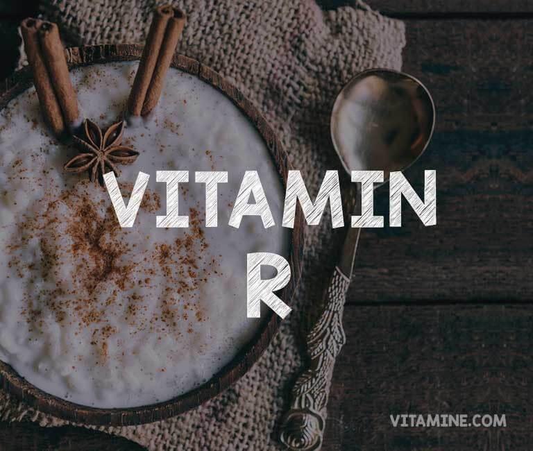 Lebensmittel, die Vitamin R beinhalten