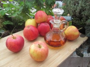 Apfelessig-Lebensmittel
