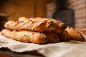 Baguette-Lebensmittel