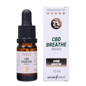 CBD Breathe 2 % Orange