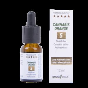 CBD Öl Orange 5 % 12 ml