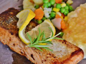 Fisch-Lebensmittel