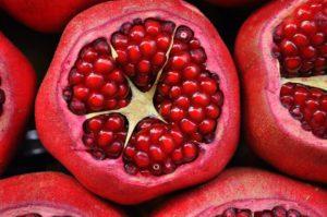 Granatapfel-Lebensmittel