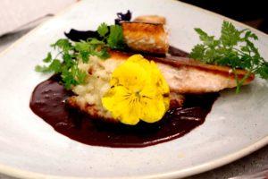 Plattfisch-Lebensmittel