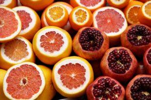 Zitrusfrüchte-Lebensmittel