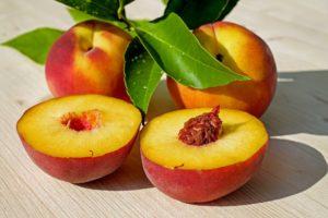 Pfirsich Lebensmittel
