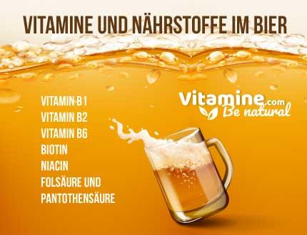 Vitamine im Bier